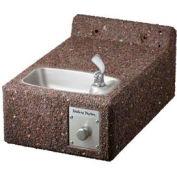 Halsey Taylor Sierra™ Stone Wall Mount Frost-Resistant I/O ADA Fountain