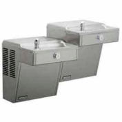 Halsey Taylor Bi-Level Reverse I/O Wall-Mount Barrier-Free Cooler, HVR8-BLR ADA