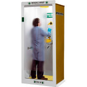 "HEMCO® Emergency Shower/Decontamination Booth, 40"" X 37"" X 90"""