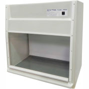 "HEMCO® EcoFlow Fume Hood with Vapor Proof Light and Built-In Blower, 30""W x 23""D x 36""H"