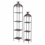 Sterling Industries, 125-048, Metal Free Standing Shelves