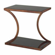 Sterling Industries, 137-020, Misterton-Rectangle Side Table W/Curved Legs