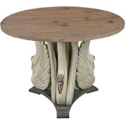 Sterling Industries,138-086,Baywood,Swan Accent Table W/Wooden Top
