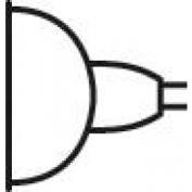 Kichler Lighting,17080,Bulb Mr16 50W 12Deg Spot Halog - Pkg Qty 10