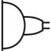 Kichler Lighting,17085,Bulb Mr16 50W 12Deg Spot Halog - Pkg Qty 10