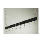 "Rogar,1744,54"" Hanging Bar W/8 Hooks"