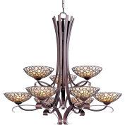 Maxim Lighting, 21346DWUB, Meridian-Multi-Tier Chandelier