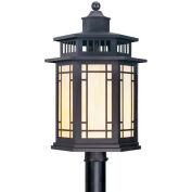 Livex Lighting, 2398-07, 1-Light Post Mount Fixture