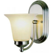 Trans Globe Lighting, 3501 PC, Morgan House Wall Sconce-Chrome