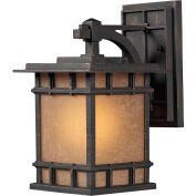 Elk Lighting, 45010/1, Newlton 1-Light Outdoor Sconce In Weathered Charcoal