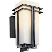 Kichler Lighting, 49200BKFL, Outdoor Wall 1 Lt. Fluorescent