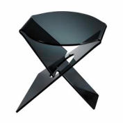 Sterling Industries, 6043699, Soho Accent Table-Black