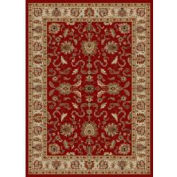 """Concord Global,65108,Agra Red 9' 3"""" x 12' 6"""""""