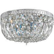 Crystorama, 714-CH-CL-SAQ, Swarovski Spectra Crystal Basket