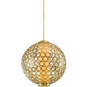 "Corbett Lighting,72-44,Bangle 4,Light Hanging Ball 30"""