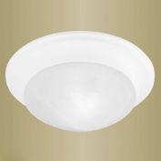 Livex Lighting, 7301-03, 1-Light Flush-Mount Ceiling Fixture