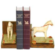 Sterling Industries, 93-9234, Pair Childs Pony Bookends
