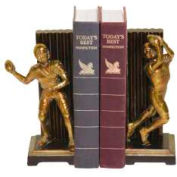Sterling Industries, 93-9508, Pair Vintage Touchdown Bookends