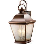 Kichler Lighting, 9704OZ, Outdoor Wall 4Lt