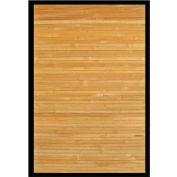 Anji Mountain, AMB0036-0023, 2' x 3' Contemporary Natural Bamboo Area Rug