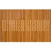 """Anji Mountain, AMB0090-0023, 24"""" x 36"""" High Gloss Bamboo Kitchen & Bath Mat"""