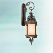 Troy Lighting, BF9122OBZ, Pamplona 1-Light Wall Lantern