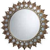 Sterling Industries, DM1937, Porterdale Mirror In Rosebery Gold
