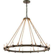 Troy Lighting, F3127, Pike Place 16 Light Pendant