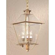 Troy Lighting, F8956NAB, Montgomery 3-Light Hanging Lantern