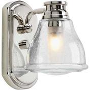 Progress Lighting, P2810-15WB, One-Light Bath W/Bulb