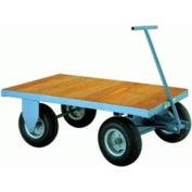 Wood Deck Fifth Wheel Trailer 36x72 Plastex Wheels 2000 lbs