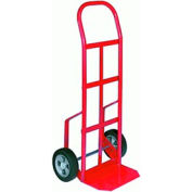 "Steel Hand Truck with 6"" Semi-Pneumatic Wheels 20-5/8x46"