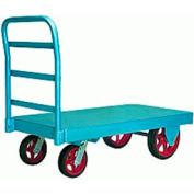 Steel Platform Truck 36x72 Plastex Wheels 3000 lbs