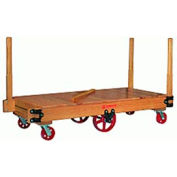 Tilt Truck 30x60 Solid Wood Plastex Wheels 3500 lbs
