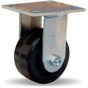 Standard Cold Forged 4x4-1/2 Rigid 4x2 Plastex Roller 800lb Caster