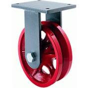 Hamilton® Standard Cold Forged Rigid 4 x 2 V-Grooved Roller 800 Lb. Caster