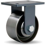 Extended Service Forged 5x7 Rigid 6x3 Forged Ball 2400lb Caster