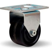 Hi-Lo Light Duty 3-1/8x4-1/8 Rigid 3x1-3/4 Plastex Roller 400lb Caster