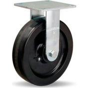 Medium Service 5x5-1/2 Rigid 8x2 Plastex Roller 900lb Caster