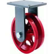 Hamilton® Workhorse Forged Rigid 4 x 2 V-Grooved Roller 800 Lb. Caster