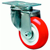 General Utility 2-1/2x3-3/4 Swivel 5x1-1/4 Flexonite Oilless 190lb Caster