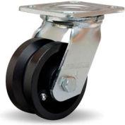 Hamilton® Standard Cold Forged Swivel 4 x 2 V-Grooved Roller 800 Lb. Caster