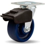 Combination Brake Cold Forged 4x4-1/2 Swivel 5x2 Unilast Ball 850lb Caster
