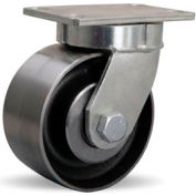 Endurance Kingpinless 4-1/2x6-1/4 Swivel 6x3 Forged Tapered 3000lb Caster