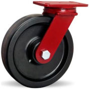 ForgeMaster 4-1/2x6-1/2 Swivel 10x2-1/2 Plastex Roller 2200lb Caster