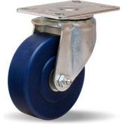 Hi-Lo Light Duty 3-1/8x4-1/8 Swivel 4x1-1/4 Unilast Roller 400lb Caster