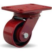 Heavy Service 4-1/2x6-1/2 Swivel 4x2 Metal Ball 1000lb Caster