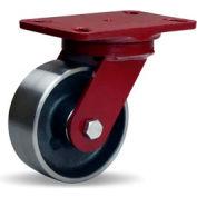 Heavy Service 4-1/2x6-1/2 Swivel 5x2 Roller 1500lb Caster