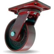 Hamilton® Heavy Service Swivel 6 x 2 Metal Ball 1400 Lb. Caster
