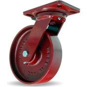 Hamilton® Heavy Service Swivel 8 x 2 Metal Ball 1500 Lb. Caster